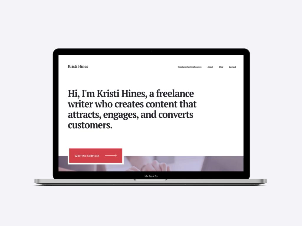 the freelance writer portfolio of kristi hines