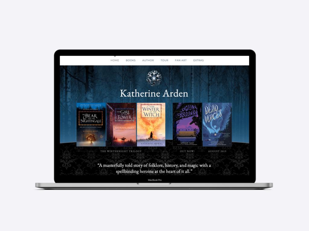 website of bestselling author katherine arden