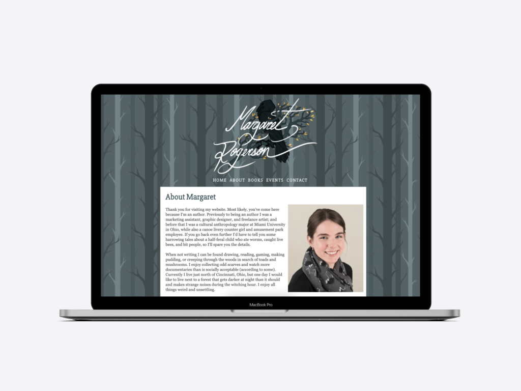 margaret rogerson's author website