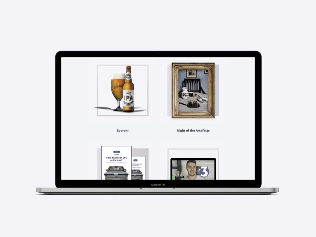 portfolio of creative lead and copywriter Adam Mattyasovszky